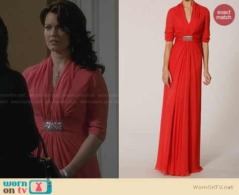 Melinda Eng 312A224B Gown worn by Bellamy Young on Scandal
