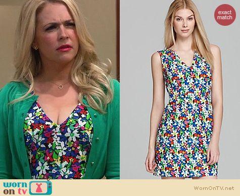 Melissa & Joey Fashion: Kate Spade Mira dress in floral worn by Melissa Joan Hart
