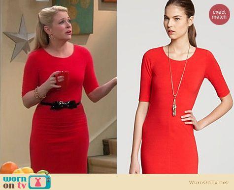Melissa Joan Hart Fashion: Diane von Furstenberg Meeson dress worn on Melissa & Joey