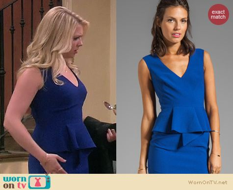Melissa & Joey Fashion: Black Halo Kaelie dress worn by Melissa Joan Hart