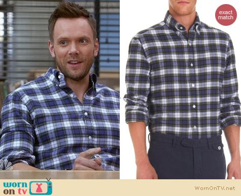 Michael Bastian Plaid Flannel Shirt worn by Jole McHale on Community