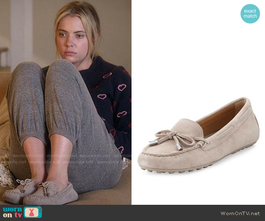 MICHAEL Michael Kors Daisy Suede Moccasin worn by Hanna Marin on PLL