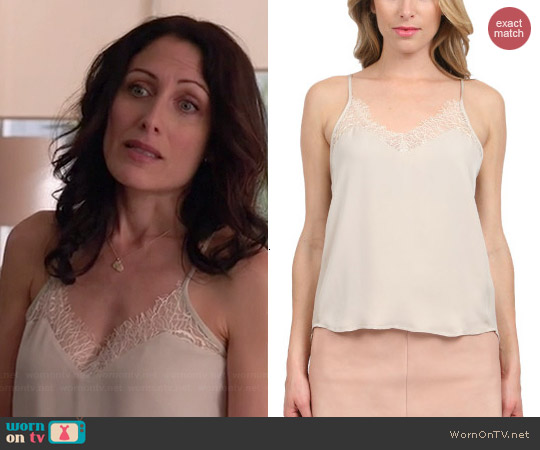 Mason by Michelle Mason Lace Cami worn by Lisa Edelstein