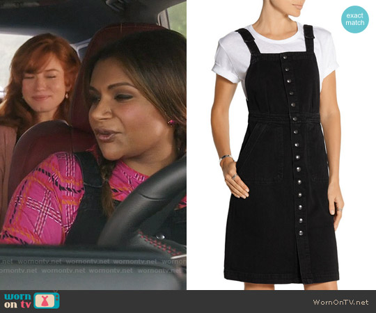 Mih Jeans Eastman Denim Dress worn by Mindy Lahiri on The Mindy Project