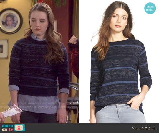 MiH Jeans Striped Sweater worn by Kaitlyn Dever on Last Man Standing