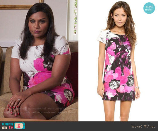 Milly Chloe Dress worn by Mindy Kaling on The Mindy Project