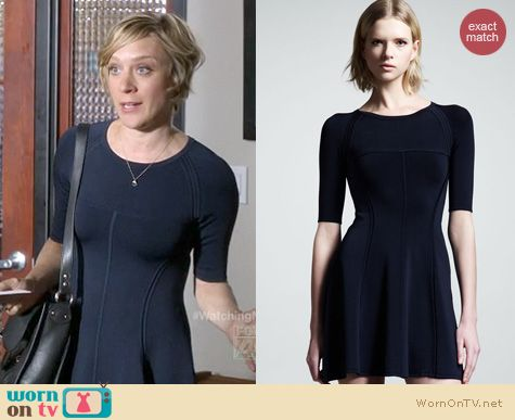 The Mindy Project Fashion: A.L.C. Shelby dress worn by Chloe Sevigny