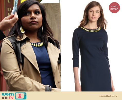 The Mindy Project Fashion: Trina Turk Sculptor dress worn by Mindy Kaling