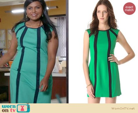 The Mindy Project Style: Nanette Lepore Underground Dress worn by Mindy Kaling
