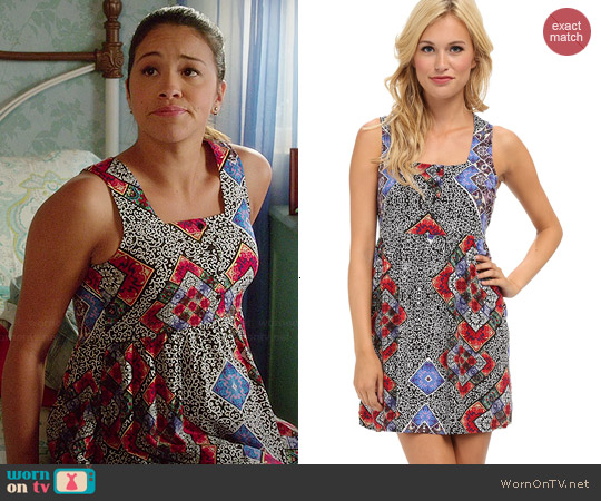 MinkPink Easy to Remember Dress worn by Gina Rodriguez on Jane the Virgin