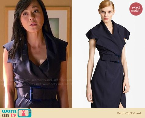 Mistresses Fashion: Donna Karan Trench Dress worn by Yunjin Kim