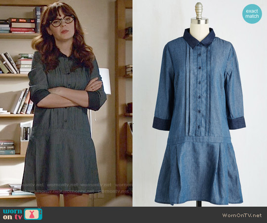 ModCloth Delighted Daily Dress worn by Zooey Deschanel on New Girl