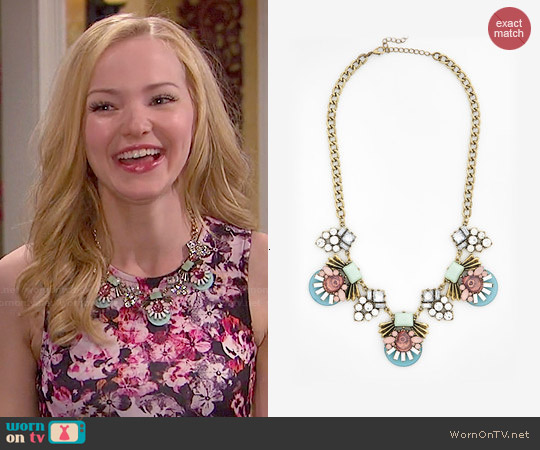ModCloth Elaborate Elegance Necklace worn by Dove Cameron on Liv & Maddie