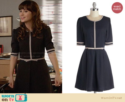 Dear Creatures Erynn's Flaire For The Classics Dress from ModCloth worn by Zooey Deschanel on New Girl
