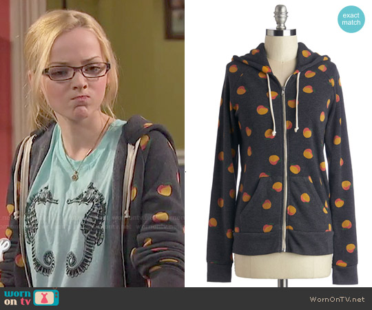 ModCloth Alternative Smile After Mile Hoodie worn by Dove Cameron on Liv & Maddie