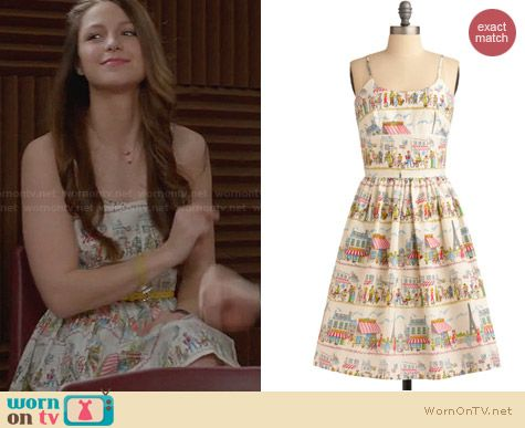 ModCloth Bernie Dexter Year Abroad Dress worn by Melissa Benoist on Glee