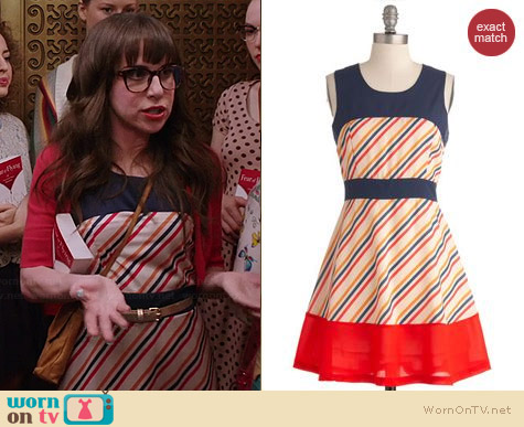 ModCloth Candy Stand Dress worn by Allyn Rachel on Selfie