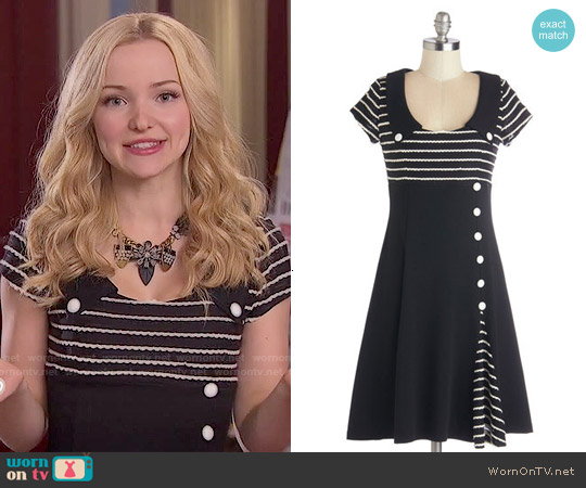 ModCloth Frock Around the Clock Dress worn by Dove Cameron on Liv & Maddie