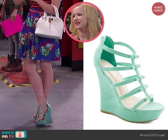 ModCloth Ice Cream Social Butterfly Wedge worn by Liv Rooney on Liv & Maddie