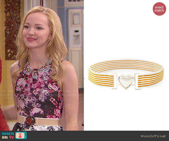 ModCloth Inch by Cinch Belt worn by Liv Rooney on Liv & Maddie