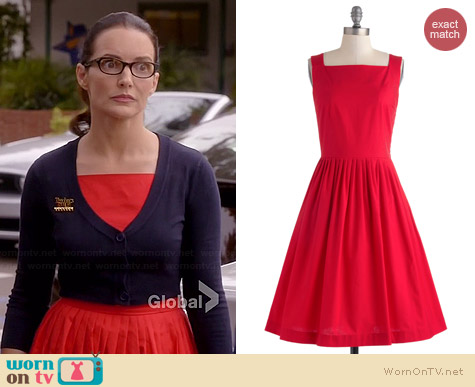 ModCloth Remarkable Without a Cause Dress worn by Kristin Davis on Bad Teacher