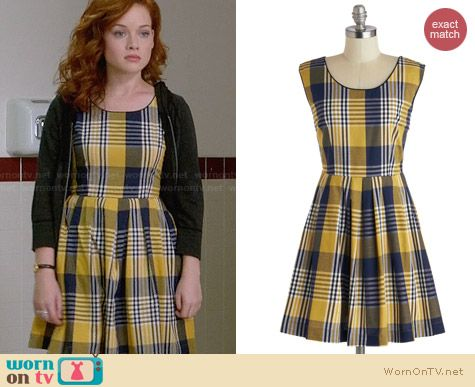 ModCloth Scholars Summit Dress worn by Tessa Altman on Suburgatory