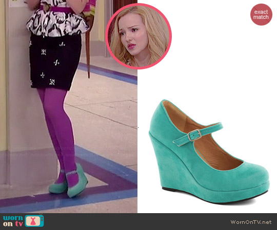 ModCloth Take the Podium Wedges worn by Dove Cameron on Liv & Maddie