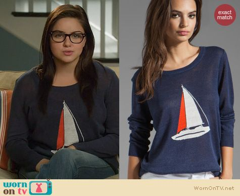 Modern Family Fashion: Joie Evaline Sailboat Sweater worn by Ariel Winter
