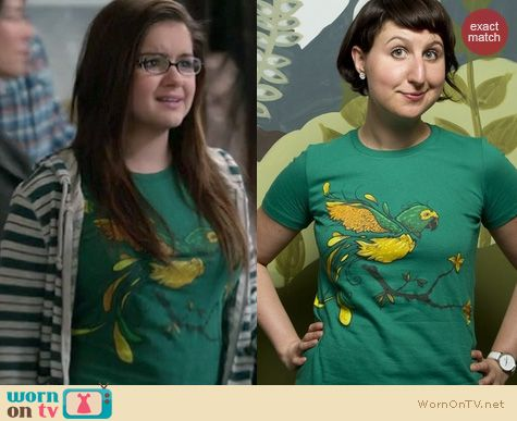 Modern Family Fashion: Threadless Brazillian Spirit tee worn by Ariel Winter