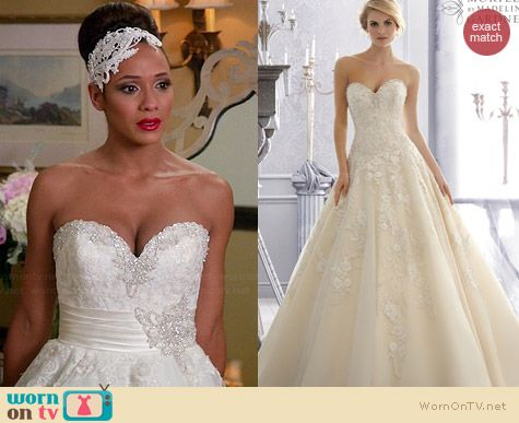 Mori Lee Bridal Gown Style #2671 worn by Dania Ramirez on Devious Maids