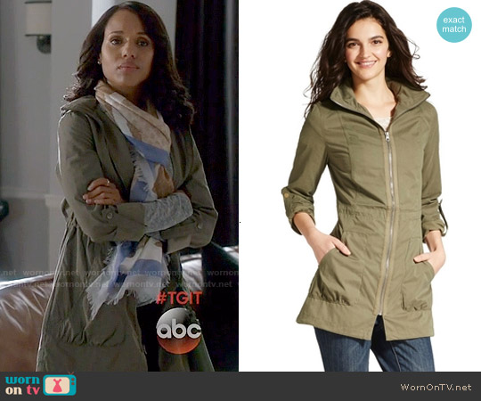 Mossimo Supply Co Anorak Jacket worn by Kerry Washington on Scandal
