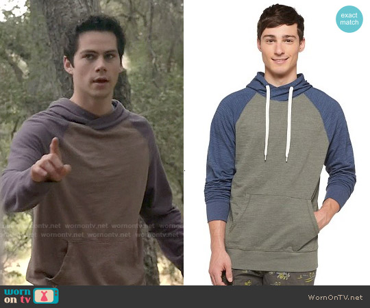 Mossimo Supply Co Raglan Hoodie worn by Dylan O'Brien on Teen Wolf