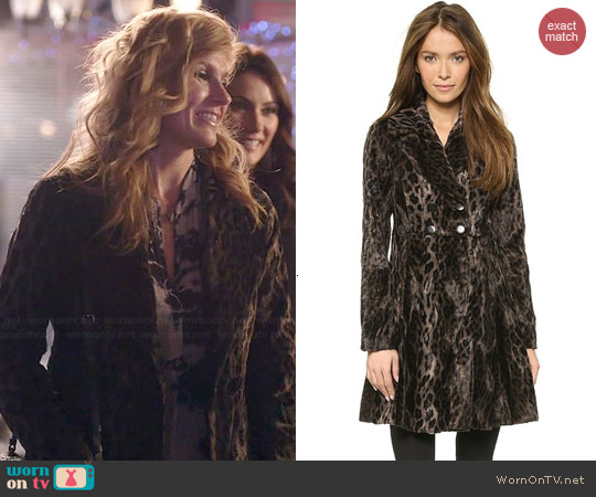 Nanette Lepore High Voltage Coat worn by Connie Britton on Nashville