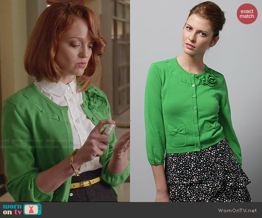 worn by Emma Pillsbury (Jayma Mays) on Glee