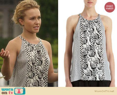 Nashville Fashion: A.L.C. Borchers Top worn by Hayden Panettiere
