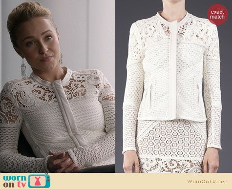 Nashville Fashion: IRO Lewis Jacket worn by Hayden Panettiere