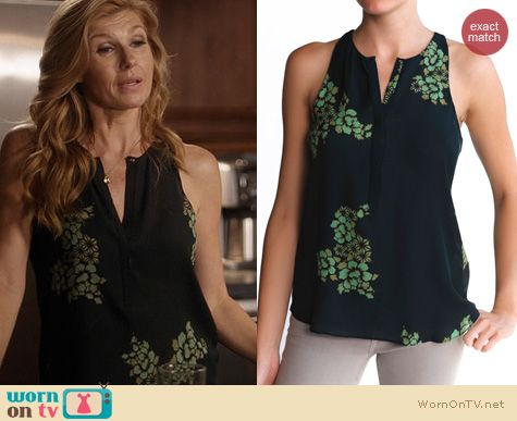 Nashville Fashion: A.L.C. Lennox Top worn by Connie Britton