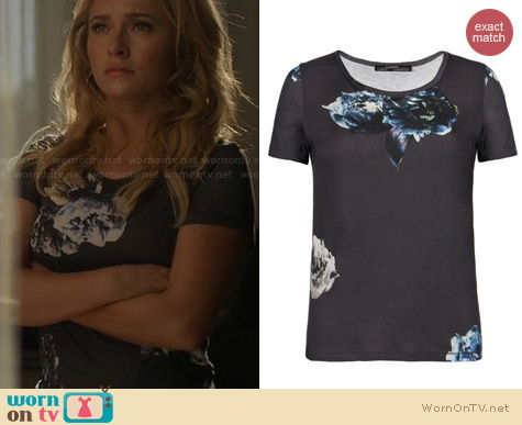 Nashville Fashion: All Saints Peony Tee worn by Hayden Panettiere