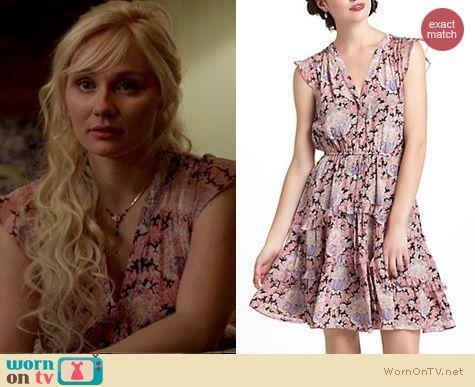 Nashville Fashion: Anthropologie Pastel Paisley dress worn by Clare Bowen