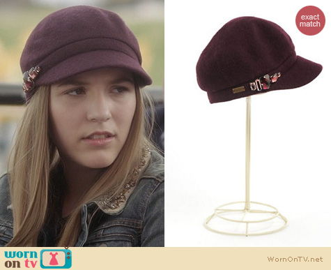 Fashion of Nashville: Betmar Embellished Cap worn by Lennon Stella