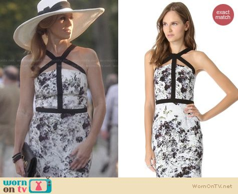 Nashville Fashion: Cushnie Et Ochs Sleeveless Dress worn by Connie Britton