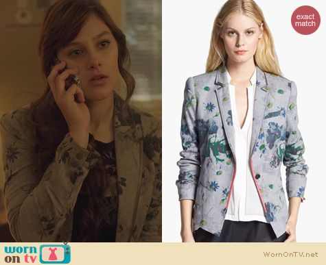 Nashville Fashion: Elizabeth and James Bourne Jacket worn by Aubrey Peeples