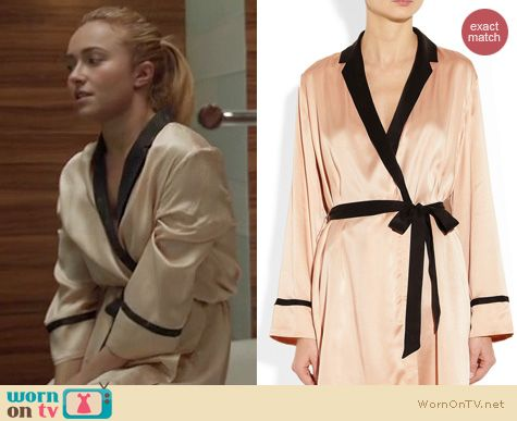 Nashville Fashion: Equipment Silk robe worn by Hayden Panettiere