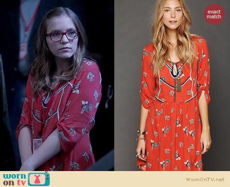Nashville Fashion: Free People Perfect day dress worn by Lennon Stella