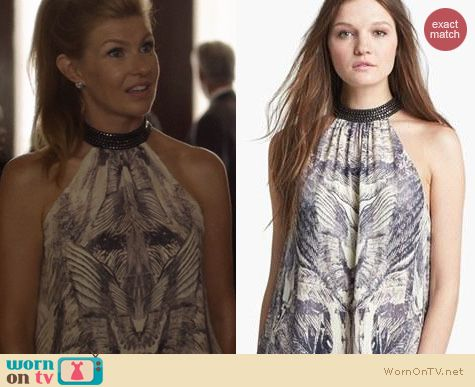 Nashville Fashion: Haute Hippie Freebird Halter Top worn by Connie Britton
