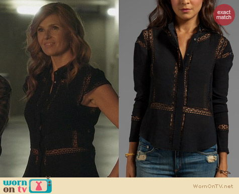 Fashion of Nashville: IRO Yumi Blouse worn by Connie Britton