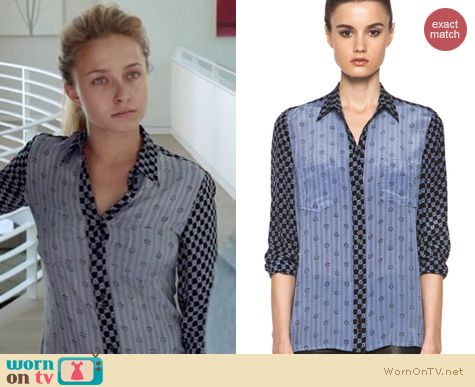 Nashville Fashion: Isabel Marant Melina shirt worn by Hayden Panettiere