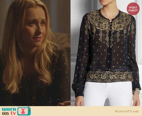 Fashion of Nashville: Isabel Marant Ralf Blouse worn by Hayden Panettiere