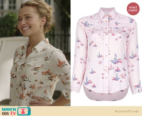 Nashville Fashion: Isabel Marant Shirt worn by Hayden Panettiere