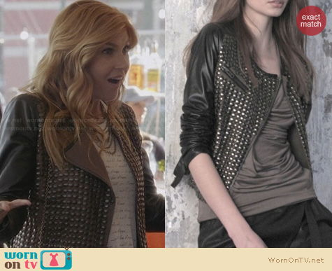 Fashion of Nashville: NUE Leather Jacket worn by Rayna Jaymes